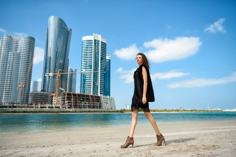 Fashion photographer in Abu Dhabi, Dubai